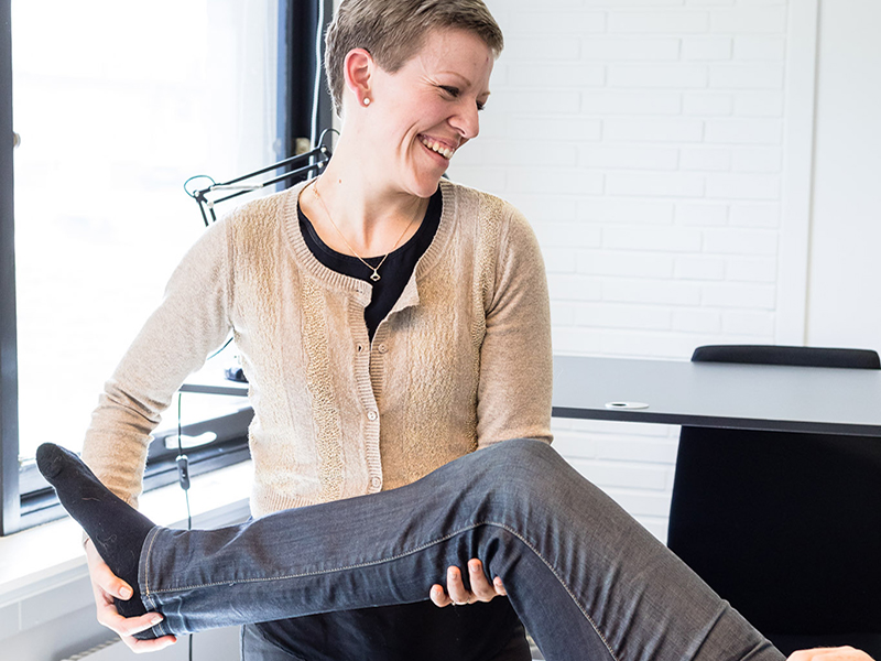 Anne Marie Horn - psykomotorisk terapeut